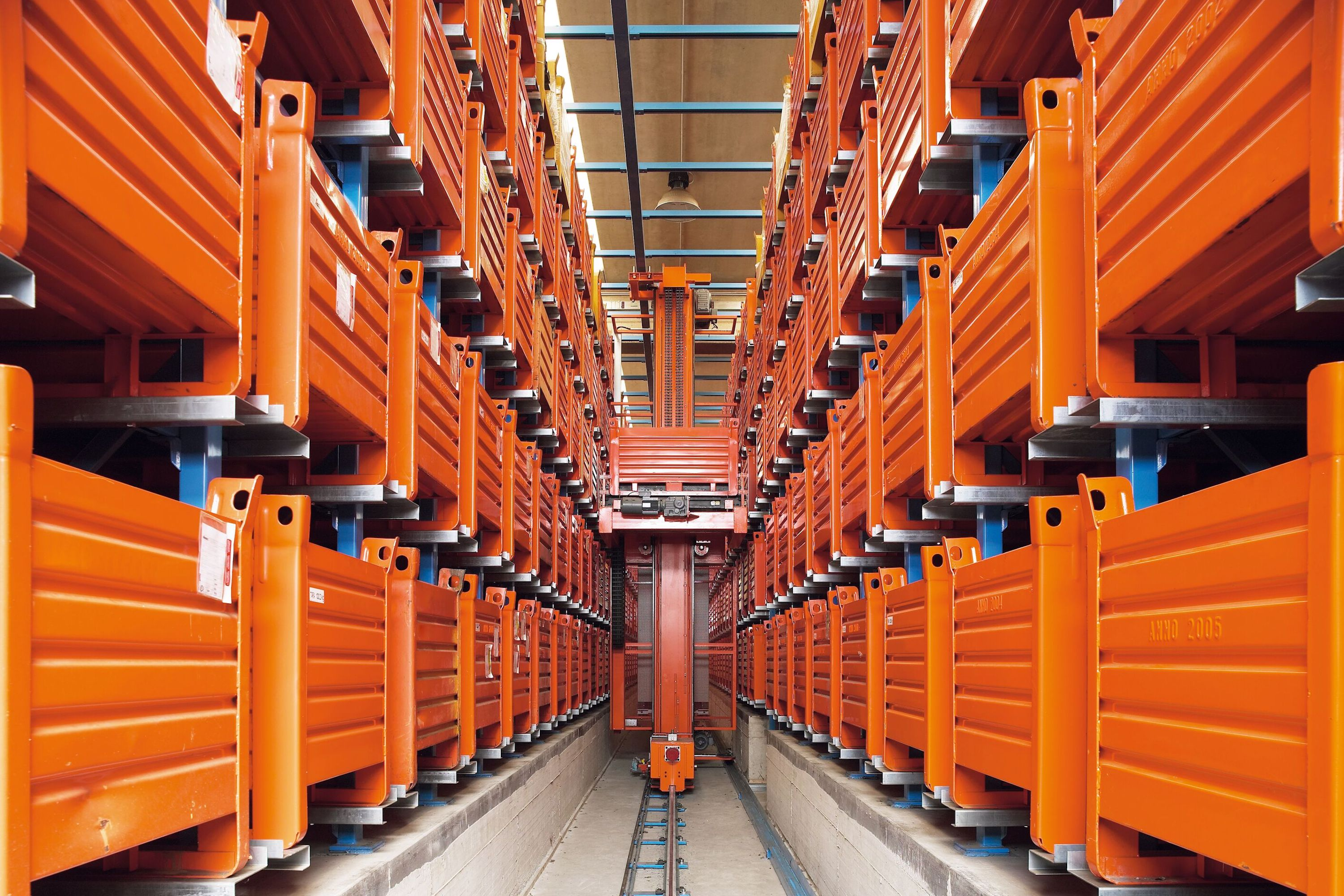 Full fixed automation: Automated Storage & Retrieval System (AS/RS), automated sortation