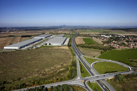 Logistics park in Prague-Uzice