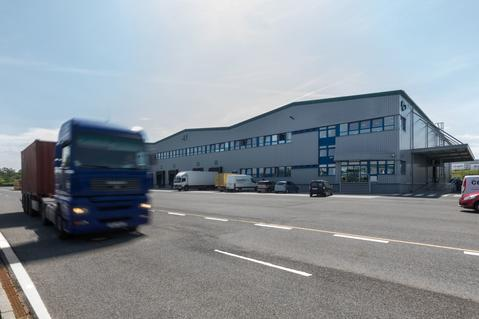 logistics park in Prague-Rudna, warehouse in Prague-Rudna