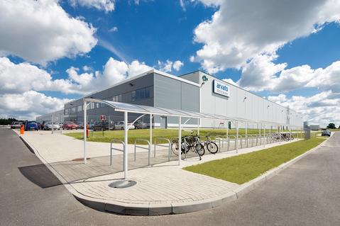 BTS Arvato Prologis Strykow