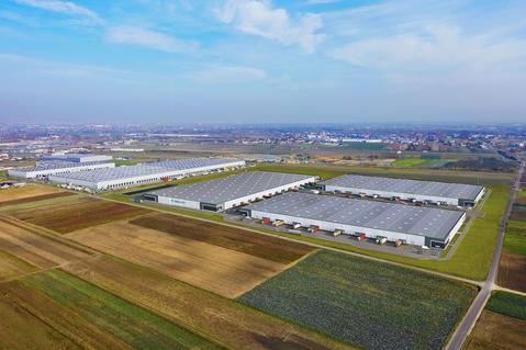 Logistics park in Warsaw, warehouse center in Warsaw, distribution center Warsaw