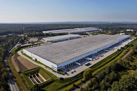Logistics park in Chorzow, warehouse in Chorzow, distrubution center Chorzow