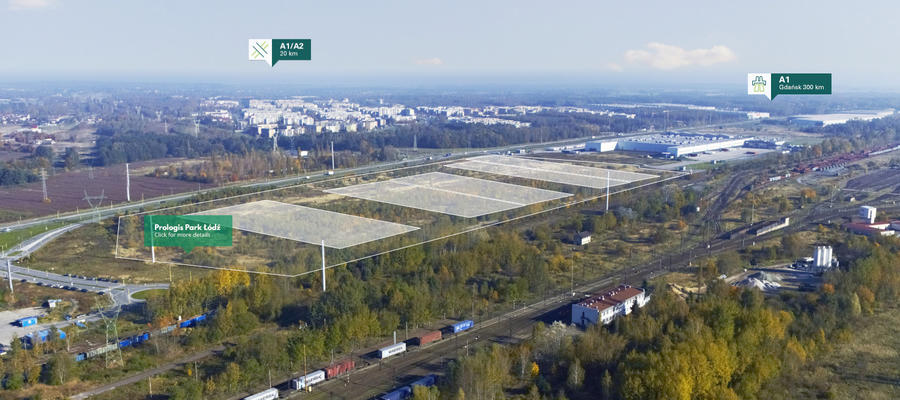 New Prologis park in Lodz, Central Poland