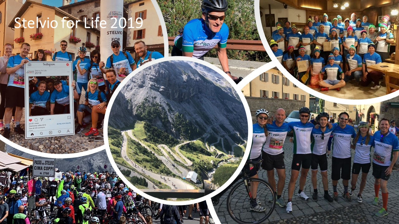 Prologis Stelvio for Life 2019 Team