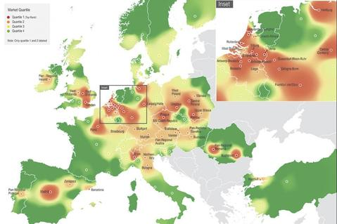 Prologis Research most desirable locations in europe