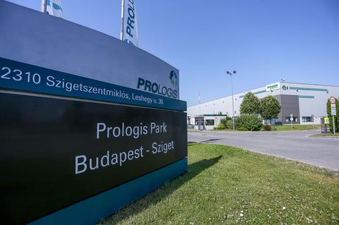 Logistics park in Budapest, Hungary
