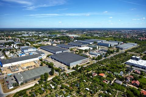 logistics park in Warsaw, Prologis