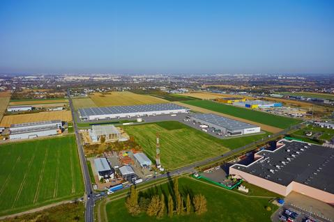 New logistics park in Poznan, Poland