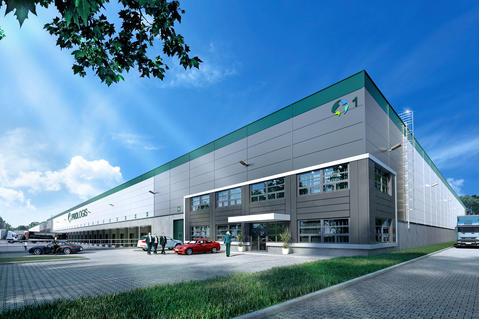 Prologis Park Prague D1 Ostredek, Czech Republic