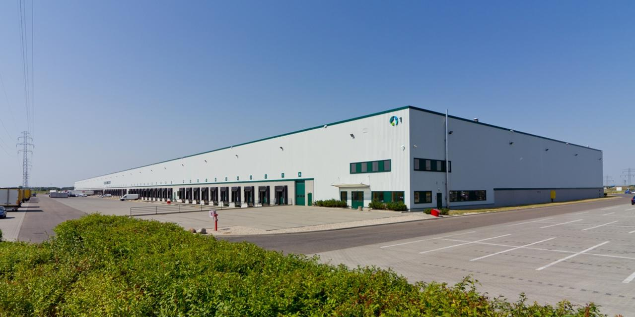 Logistics park in Warsaw, distribution center in Warsaw