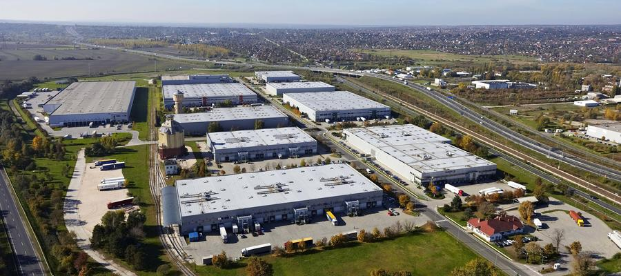 Logistics parks and distribution center in Hungary